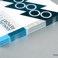 Eleganckie broszury z folią soft touch na okładce.