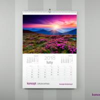 Który kalendarz będzie praktyczny i użyteczny? Ten z czytelnym kalendarium, na którym można nanosić osobiste notatki.