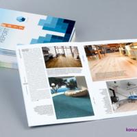 Broszury szyte są najbardziej uniwersalną formą prezentacji firmy.