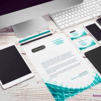 Papier firmowy jest jednym z narzędzi służącym do wizualnej identyfikacji firmy.