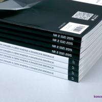 Grzbiet katalogów dzięki oprawie klejonej PUR jest wyjątkowo wytrzymały i trwały.