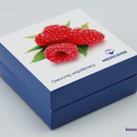 Firmowe opakowanie ozdobne na słodkości to idealny pomysł na prezent dla klientów.