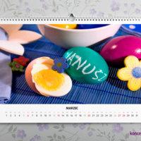 Personalizacja sprawia, że podarowany kalendarz jest wyjątkowym prezentem.