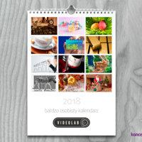 Firmowy kalendarz personalizowany w formacie A4 pion.