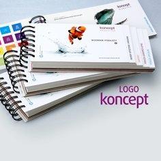 wzornik z logo KONCEPT