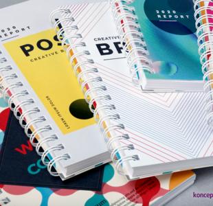 broszury spiralowane A6 pion