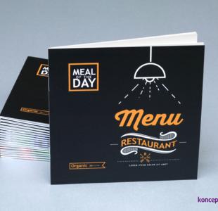 broszury szyte KWADRAT 12 x 12 cm