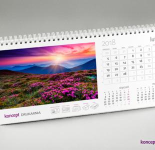 kalendarze biurkowe HORIZON Delux (miesięczne)