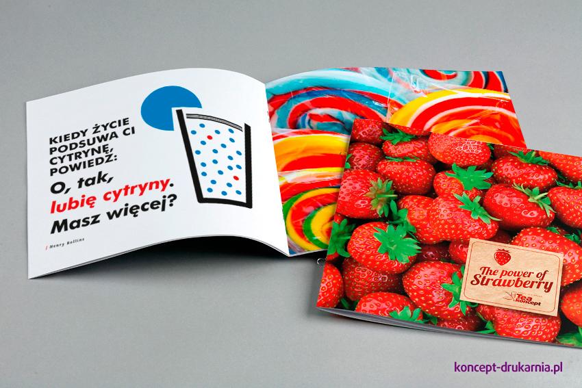 broszury szyte KWADRAT 21 x 21 cm