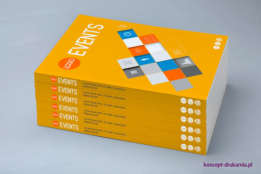 Książki klejone w miękkiej oprawie z folią soft touch na okładce