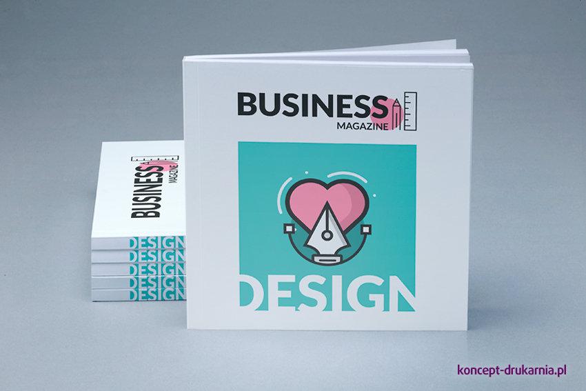 broszury klejone KWADRAT 15 x 15 cm