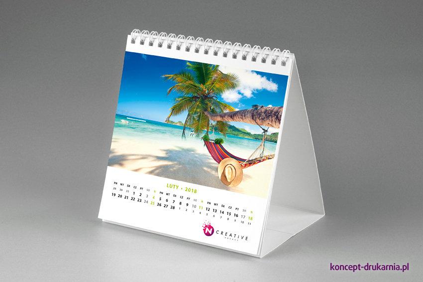 kalendarze biurkowe SQUARE (miesięczne)
