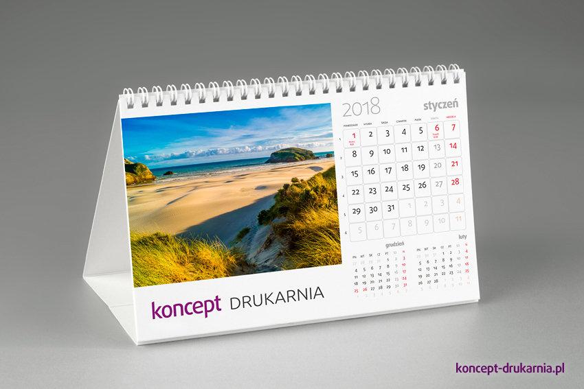 kalendarze biurkowe SMART (miesięczne)