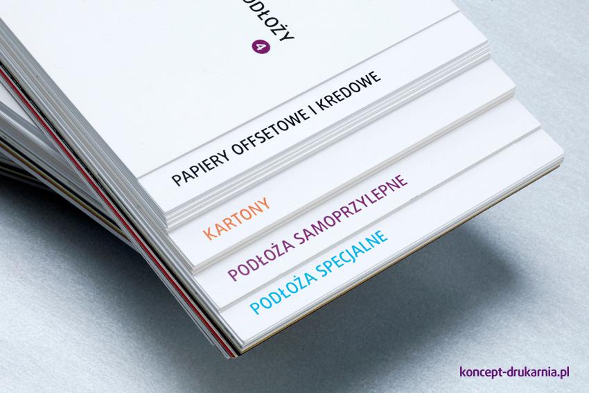 Szeroki wybór podłoży od papierów kredowych i offsetowych, przez kartony i podłoża samoprzylepne po różnorodne podłoża specjalne.
