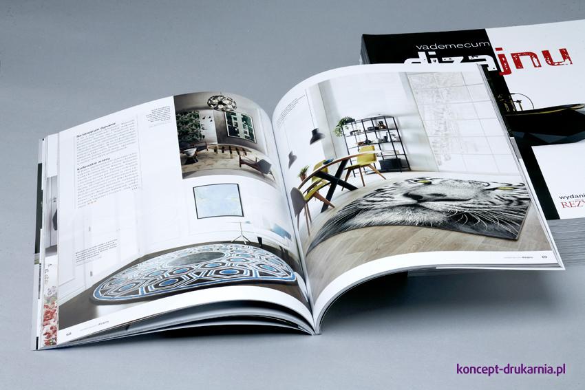 broszury klejone A4 pion