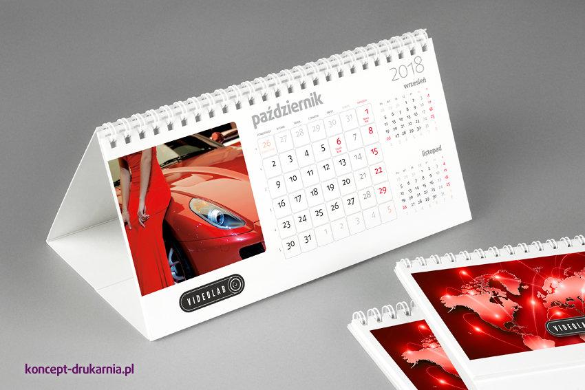 kalendarze biurkowe HORIZON-1 (miesięczne)
