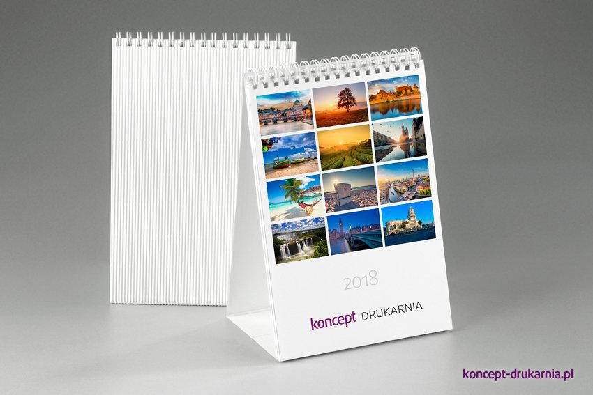 kalendarze biurkowe TALL Delux (miesięczne)