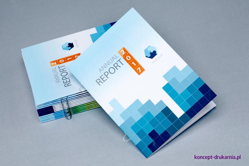 Okładka broszury wydrukowana na kredzie matowej 250 g/m2.