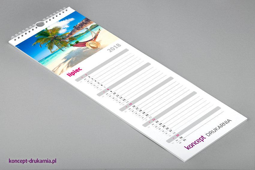 Na tych kalendarzach nie zabraknie miejsca na robienie osobistych notatek.